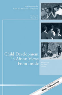 Child Development in Africa: Views from Inside: Number 146 (Heftet)