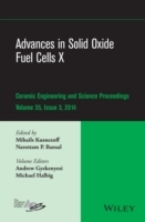 Advances in Solid Oxide Fuel Cells X: Volume 35, Issue 3 av Mihails Kusnezoff, Narottam P. Bansal, Andrew L. Gyekenyesi, Michael Halbig og American Ceramics Society (Innbundet)