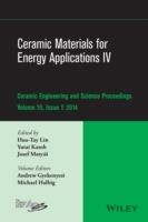 Ceramic Materials for Energy Applications IV: Volume 35, Issue 7 av Andrew L. Gyekenyesi, Michael Halbig og American Ceramics Society (Innbundet)