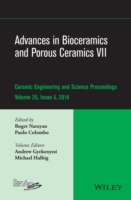 Advances in Bioceramics and Porous Ceramics VII av Andrew L. Gyekenyesi, Michael Halbig og American Ceramics Society (Innbundet)