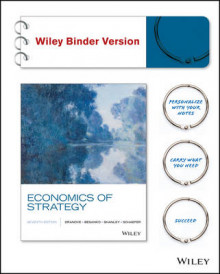 Economics of Strategy, Binder Ready Version av David Dranove, David Besanko, Dr Mark Shanley og Scott Schaefer (Perm)