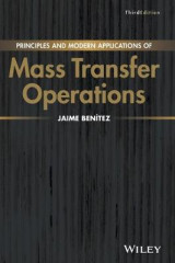 Omslag - Principles and Modern Applications of Mass Transfer Operations