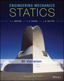Engineering Mechanics - Statics, Eighth Edition SI Version av James L. Meriam, L. G. Kraige og J. N. Bolton (Heftet)