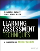 Learning Assessment Techniques av Elizabeth F. Barkley og Claire Howell Major (Heftet)