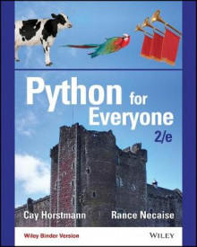 Python for Everyone, Second Edition Binder Ready Version av Cay S. Horstmann og Rance D. Necaise (Perm)