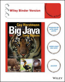 Big Java, Binder Ready Version av Cay S Horstmann (Perm)