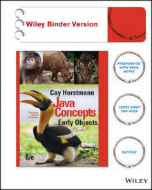 Java Concepts, Binder Ready Version av Cay S Horstmann (Perm)