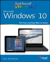 Teach Yourself Visually Windows 10 av Paul McFedries (Heftet)