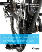 Omslag - Mastering Autodesk Inventor 2016 and Autodesk Inventor LT 2016