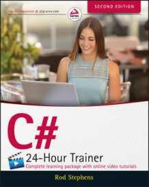C# 24-Hour Trainer av Rod Stephens (Heftet)