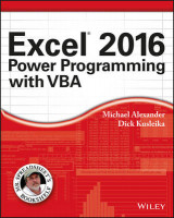 Omslag - Excel 2016 Power Programming with VBA