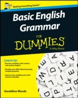 Omslag - Basic English Grammar For Dummies - UK