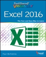 Omslag - Teach Yourself Visually Excel 2016