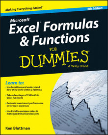Excel Formulas and Functions For Dummies av Ken Bluttman (Heftet)