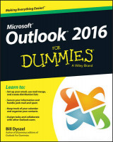Omslag - Outlook 2016 For Dummies