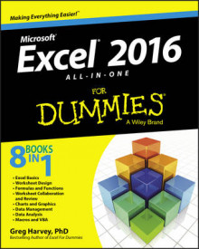 Excel 2016 All-in-One For Dummies av Greg Harvey (Heftet)