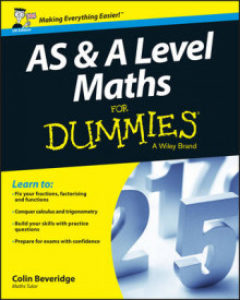 AS and A Level Maths For Dummies av Colin Beveridge (Heftet)