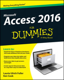 Access 2016 For Dummies av Laurie Ulrich-Fuller og Ken Cook (Heftet)