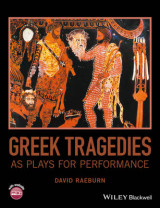 Omslag - Greek Tragedies as Plays for Performance