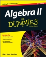 Algebra II For Dummies av Mary Jane Sterling (Heftet)