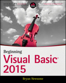 Beginning Visual Basic 2015 av Bryan Newsome (Heftet)