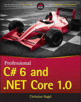 Omslag - Professional C# 6 and .NET Core 1.0
