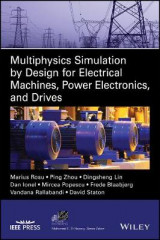 Omslag - Multiphysics Simulation by Design for Electrical Machines, Power Electronics and Drives