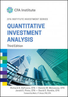 Quantitative Investment Analysis av Richard A. DeFusco, Dennis W. McLeavey, Jerald E. Pinto, David E. Runkle og Mark J. P. Anson (Innbundet)