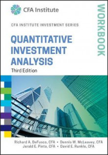 Quantitative Investment Analysis Workbook av Richard A. DeFusco, Dennis W. McLeavey, Jerald E. Pinto og David E. Runkle (Heftet)