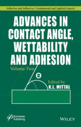 Omslag - Advances in Contact Angle, Wettability and Adhesion: Volume 2