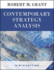 Contemporary Strategy Analysis Text Only av Robert M. Grant (Heftet)