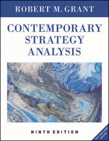 Contemporary Strategy Analysis 9E, Text and Cases Edition av Robert M. Grant (Heftet)