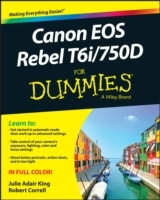 Canon EOS Rebel T6i/750D for Dummies av Julie Adair King og Robert Correll (Heftet)