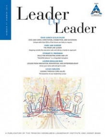Leader to Leader 2015: Volume 77 av LTL (Heftet)