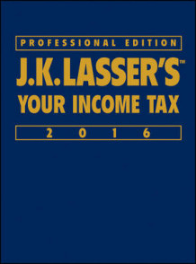 J.K. Lasser's Your Income Tax 2016, Professional Edition av J.K. Lasser Institute (Heftet)