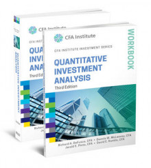 Quantitative Investment Analysis, Book and Workbook Set av Richard A. DeFusco, Dennis W. McLeavey, Jerald E. Pinto og David E. Runkle (Heftet)