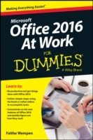 Office 2016 at Work For Dummies av Faithe Wempen (Heftet)
