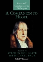 A Companion to Hegel (Heftet)