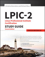 Omslag - LPIC-2: Linux Professional Institute Certification Study Guide