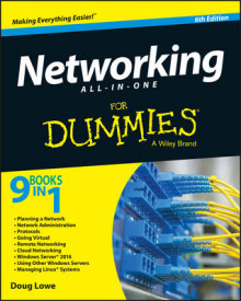 Networking All-in-One For Dummies av Doug Lowe (Heftet)