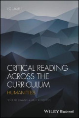 Omslag - Critical Reading Across the Curriculum: Volume 1
