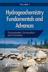 Omslag - Hydrogeochemistry Fundamentals and Advances: Volume 1