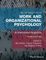 Omslag - An Introduction to Work and Organizational Psychology