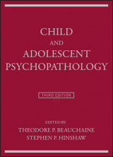 Omslag - Child and Adolescent Psychopathology