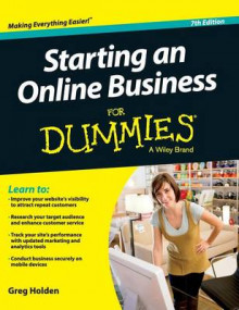 Starting an Online Business for Dummies av Greg Holden (Innbundet)