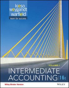Intermediate Accounting, Volume 1 av Donald E Kieso (Perm)