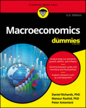 Macroeconomics For Dummies av Peter Antonioni, Manzur Rashid og Dan Richards (Heftet)