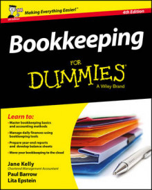 Bookkeeping for Dummies 4th UK Edition av Jane E. Kelly, Paul Barrow og Lita Epstein (Heftet)