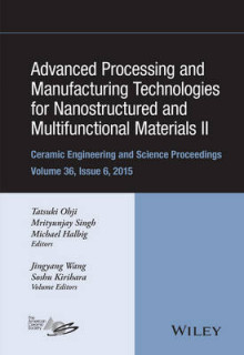Advanced Processing and Manufacturing Technologies for Nanostructured and Multifunctional Materials II av ACerS (American Ceramic Society), Soshu Kirihara og Jingyang Wang (Innbundet)