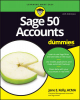Omslag - Sage 50 Accounts For Dummies